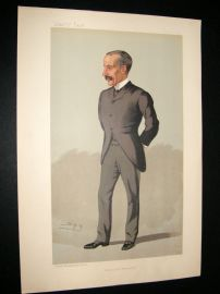 Vanity Fair Print 1893 Sir James Sivewright, Architect